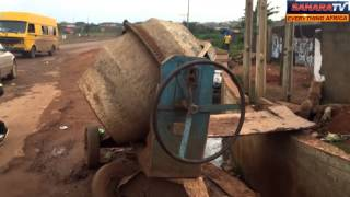 Repeat youtube video One of Lagos Worst Roads Is Isolo-Ejigbo-Ikotun Road In Lagos