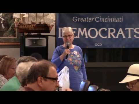 Greater Cincinnati Democrats with Billie Mays