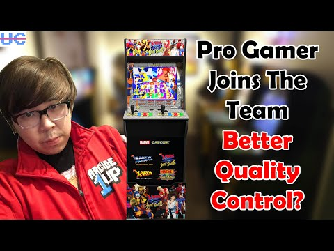 Arcade1up Hires Pro Gamer Justin Wong To Improve Testing and Quality Control from Unqualified Critics