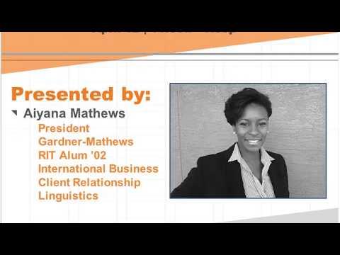 meRIT Webinar: Women's Influence in International Business