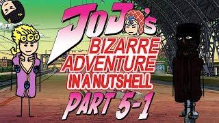 JoJo's Bizarre Adventure Part 5: Golden Wind In A Nutshell - First Half
