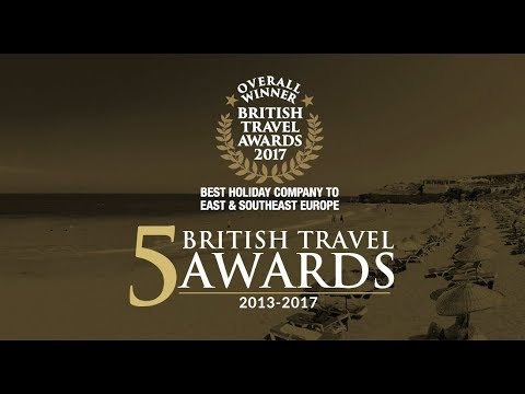2017 British Travel Awards Gold Winners | Cyprus Paradise | North Cyprus Holidays