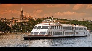 Прогулка на пароходе по Днепру | водная Панорама Киева | Киевский Речной Порт