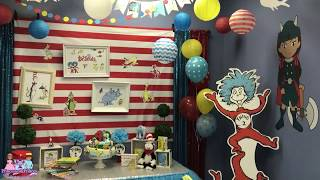 Dr Seuss Birthday Party Theme | Orlando - Ocoee FL | Princesses & Princes