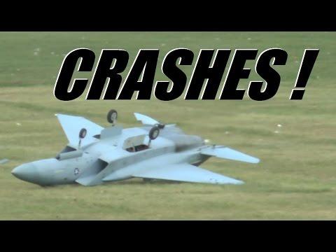 RC radio control airplane CRASH compilation