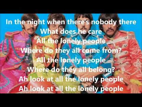 Eleanor Rigby With Lyrics(The Beatles)