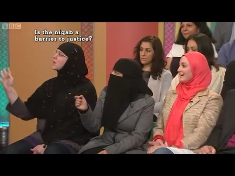 The Niqab in Britain (Muslim Face Veil)
