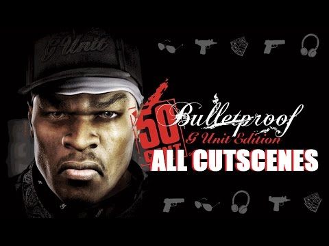 50 Cent: Bulletproof All Cutscenes Full Game Movie [HD 720p]
