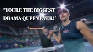 For the second straight time in a row, Angelique Kerber and Bianca ...