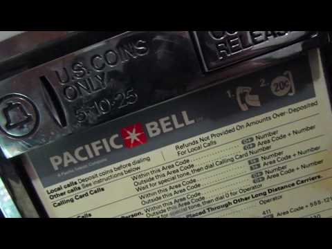 Pacific Bell Western Electric 3A 3A2 ECPT Payphone