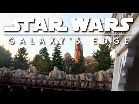 Nearing completion | Galaxy's Edge construction |  Pt. 176 01-19-19
