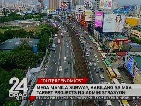 24 Oras: Mega Manila Subway, kabilang sa mga target projects ng administrasyon