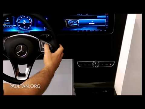 W213 Mercedes-Benz E-Class: Instrument Panel and Steering Wheel Touch Control