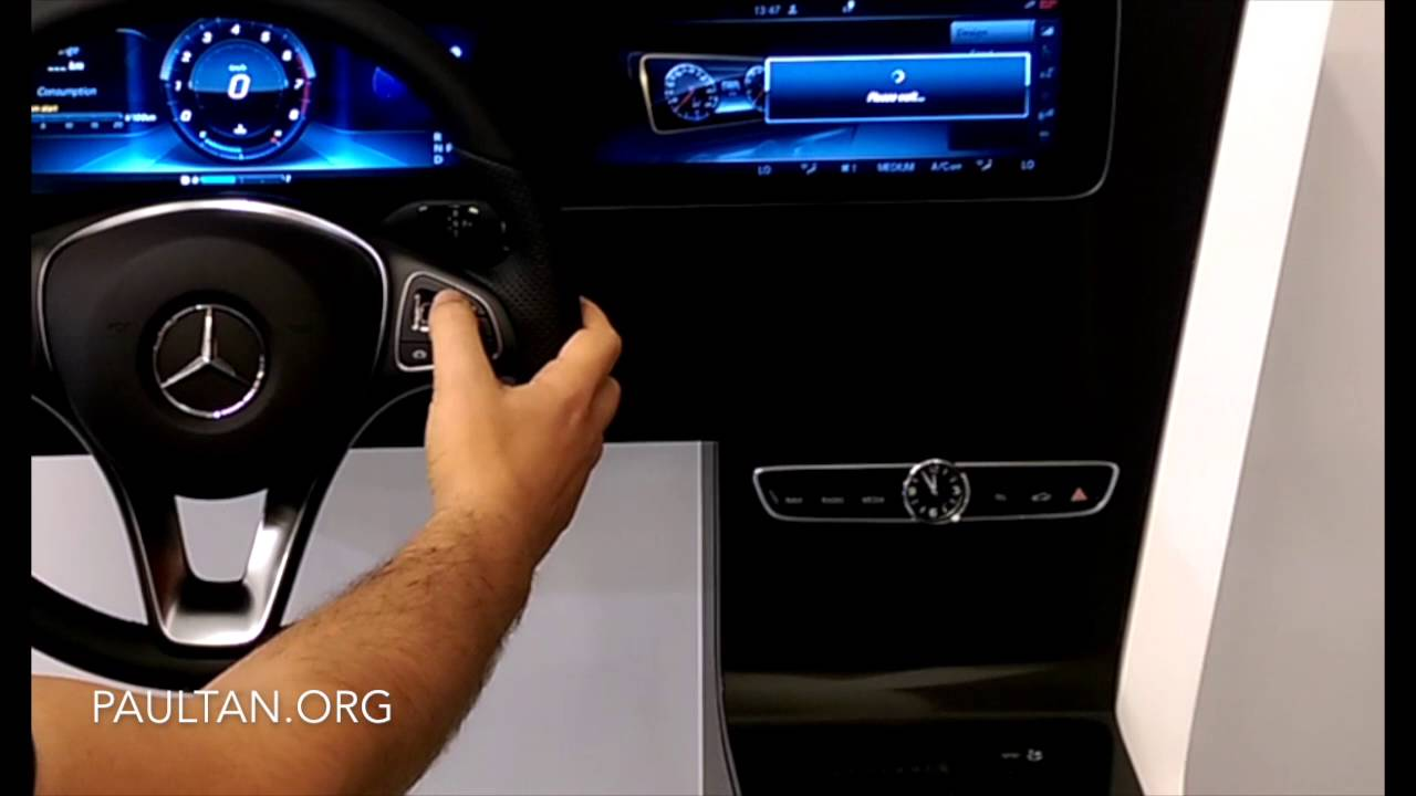 W213 Mercedes-Benz E-Class: Instrument Panel and Steering ...