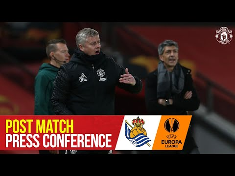 Ole Gunnar Solskjaer | Manager's Press Conference | Manchester United 0-0 Real Sociedad