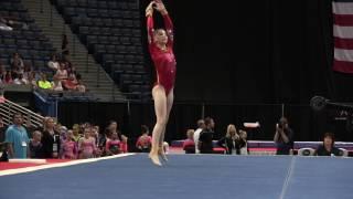Megan Freed - Floor Exercise - 2016 Secret U.S. Classic - Junior