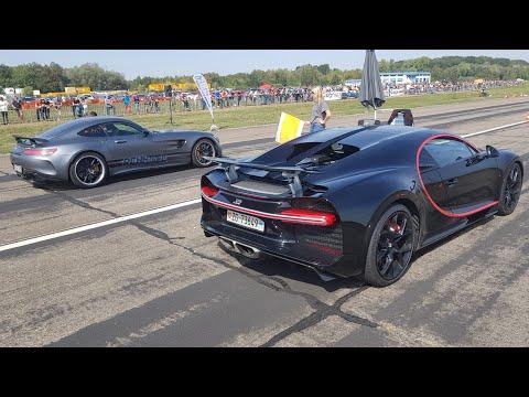 760HP RENNtech Mercedes-AMG GTR vs Bugatti Chiron