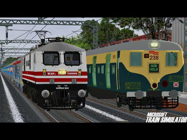 Gatimaan Express vs Bhopal Shatabdi | Indian Railways | MSTS