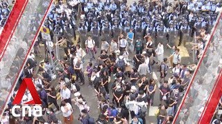 Hong Kong protesters take various measures to go
