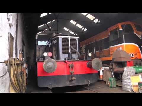 Deutz Diesel Shunter G617 Startup - 27th April 2013