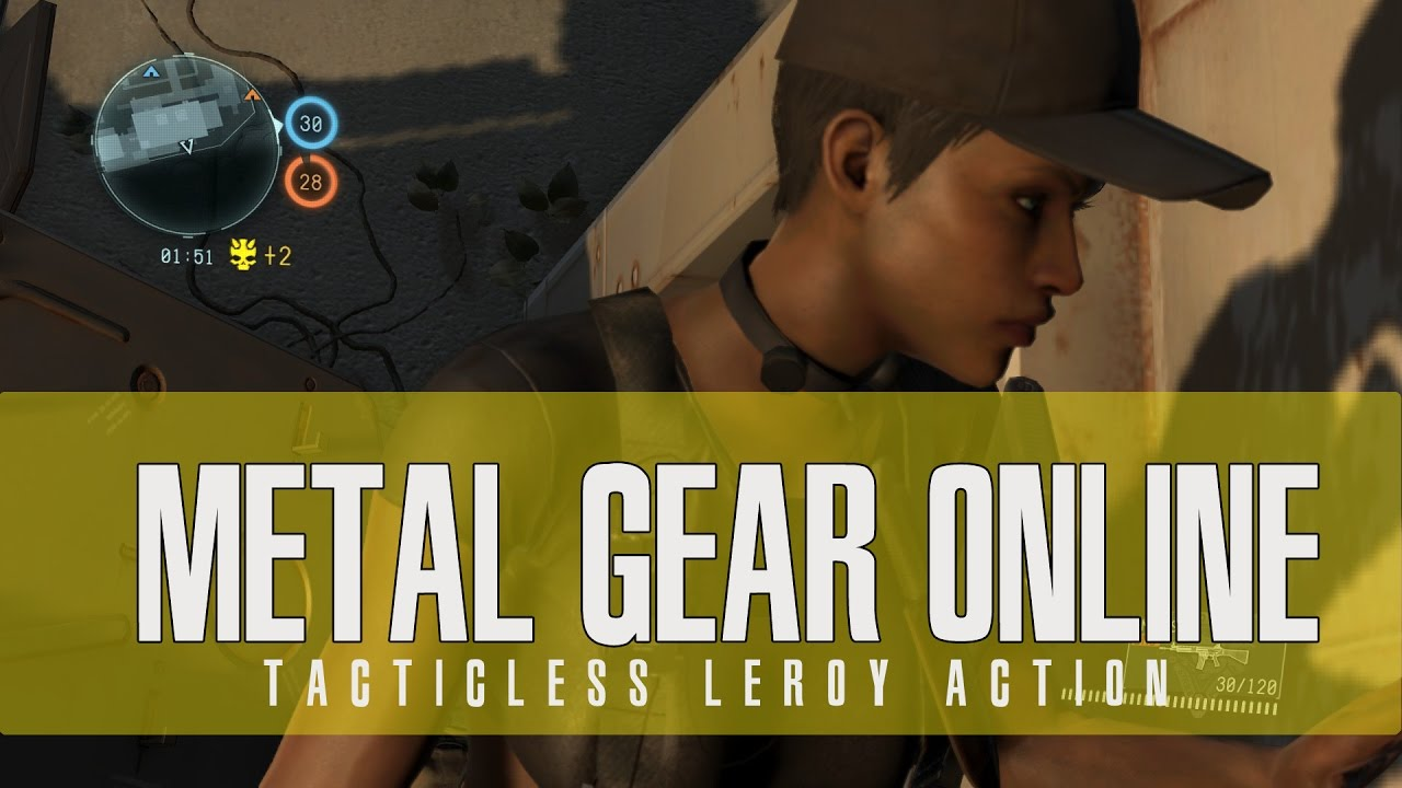 Metal Gear Online Tactic Less Leroy Operations