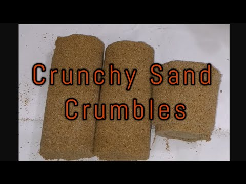 Red Sand Crumbles... Very Crunchy Sounds... Plz Like And Subscribe To My Channel 😍❤️