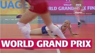 World Grand Prix Final 6: Phenomenal Malova dig during incredible rally