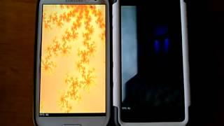 LG Spirit vs Samsung Galaxy S3 Quadrant Standard Test for Metro PCS