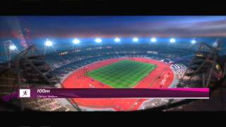 100 Meter - London 2012 Olympics for Playstation Move - PS3 Fitness