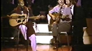 Richie Havens sings W.O.L.D during the Harry Chapin Tribute 1987
