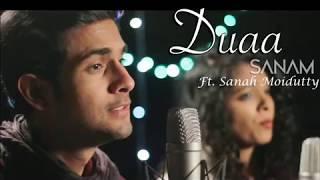 dua acoustic sanam ft sanah moidutty with lyrics SING WITH SANAM