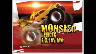 Wii startup - Monster trux offroad