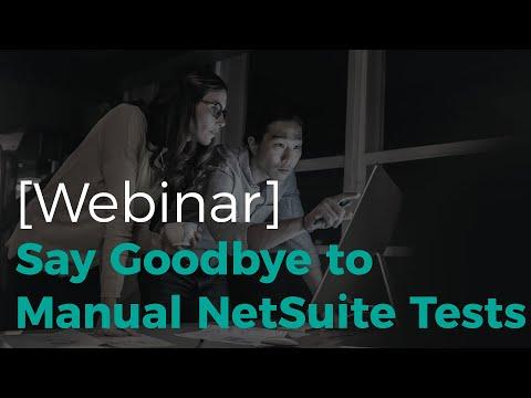 Xcelero: NetSuite Test Automation Solution - Xcelero