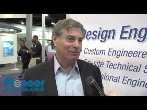Pioneer Motor Bearing Co. CEO Gordon Bardet Speaks at Hydro Vision 2013
