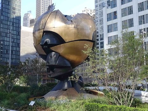 """""""The Sphere"""" - Back at the NYC World Trade Center"""