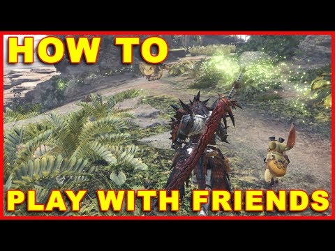 Monster Hunter World: How to Play Online Multiplayer With Friends