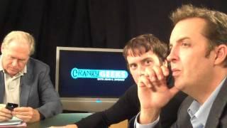 Pre-arguing on Cranky Geeks with John C. Dvorak, Martin Sargent, Sebastian Rupley