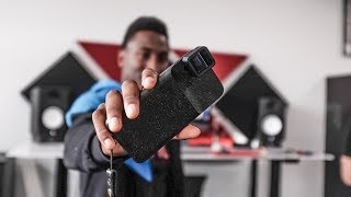 Showing MKBHD The Anamorphic Lens  Gear Vlog