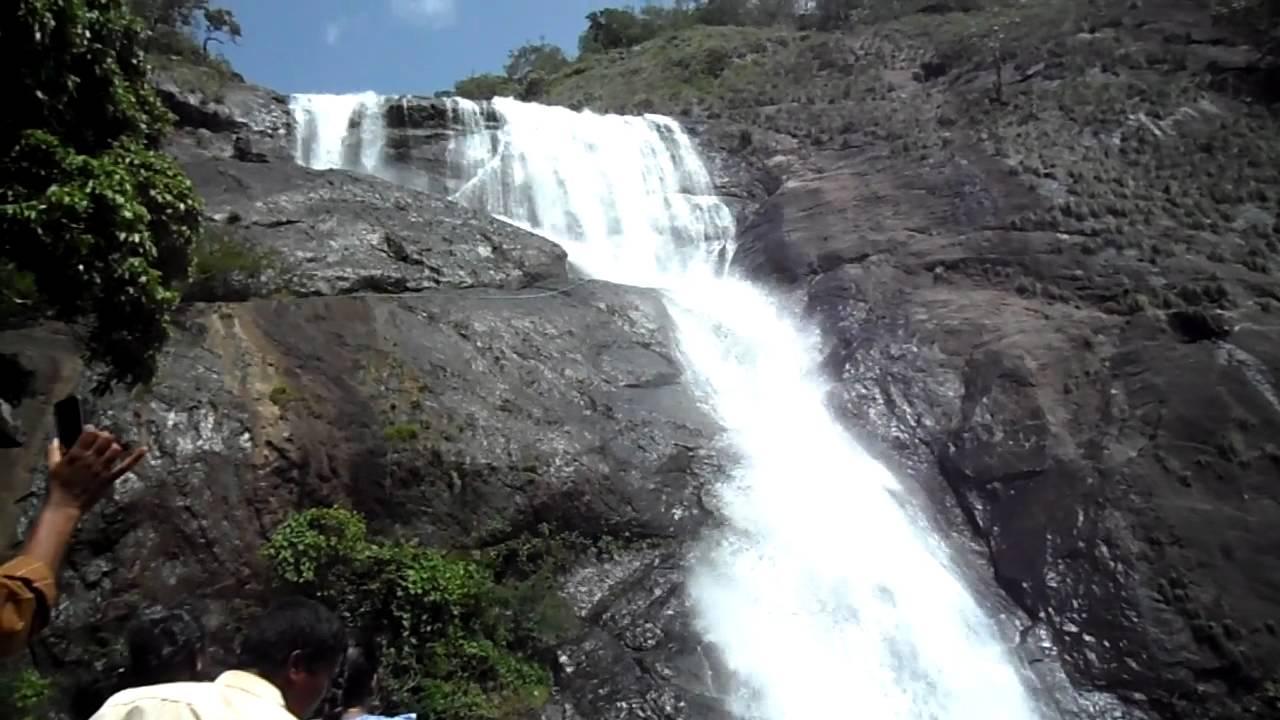 Palaruvi Water Falls Kerala Youtube