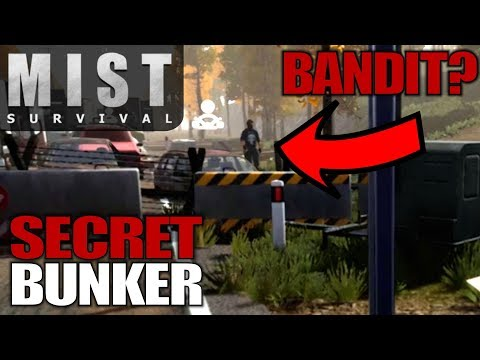 SECRET BUNKER & BANDITS | Mist Survival | Let's Play Gameplay | S01E03