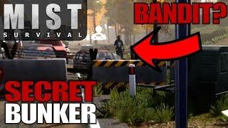 SECRET BUNKER & BANDITS | Mist Survival | Let