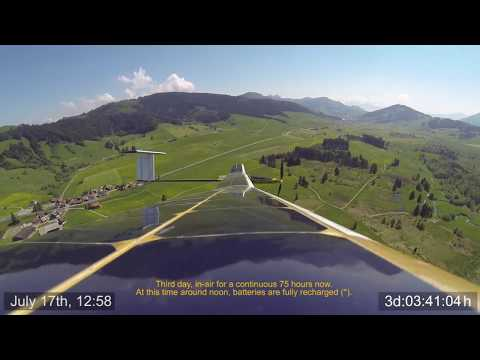 Solar-powered 81 hour endurance world record flight