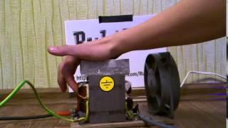 видео Трансформатор микроволновки МОТ