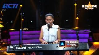 "Reyna Qotrunnada ""Route 66"" Nat King Cole - Rising Star Indonesia Eps 6"