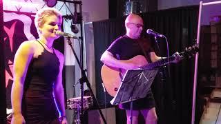 """Kira Wood & Danbert Nobacon (Chumbawamba) """"This Girl"""" Live At Creep Records, Philly 6/1/19"""