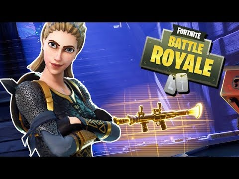 Viking Skin + Heavy Shotgun - Fortnite Battle Royale Gameplay German