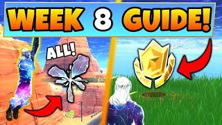 Fortnite WEEK 8 CHALLENGES GUIDE! – ALL RIFT Locations, Treasure MAP (Battle Royale Season 5)