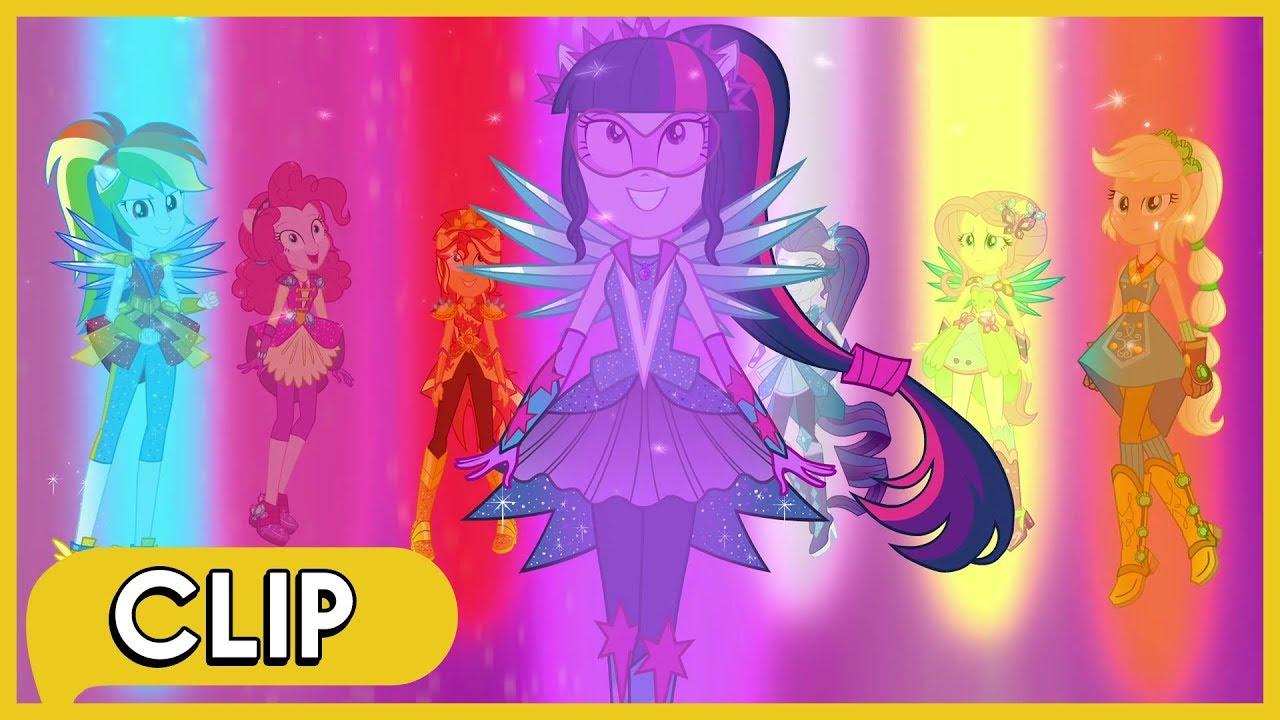 Mane seven vs gloriosa final battle mlp eg legend of for My little pony legend of everfree coloring pages