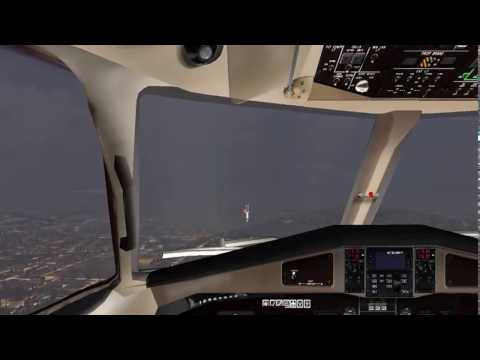 Landing at London City with Virtualcol ATR 72-200 in FSX
