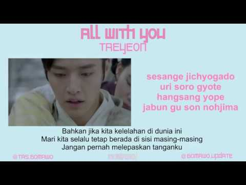 TAEYEON  ALL WITH YOU Ost Moon Lovers MV, EASY LYRIC, LIRIK INDONESIA